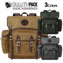 Duluth Pack Wanderer WAXダルースパック ワンダラー ワックス【正規品】