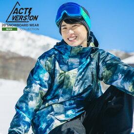メンズ スノーボードウェア上下セット スノボウェア スキーウェア ACTI 送料無料