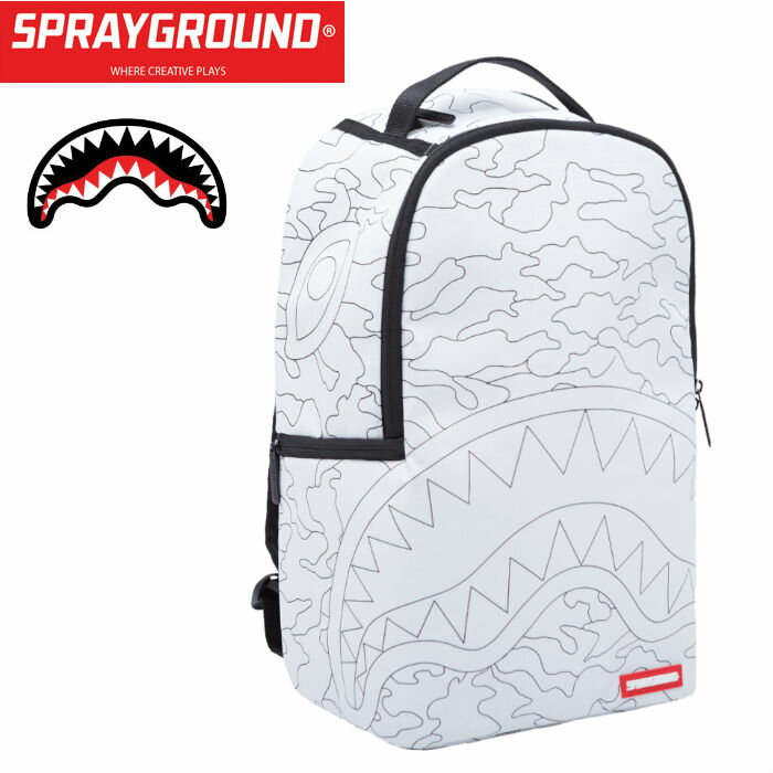SPRAY GROUND【スプレイグラウンド】 DIY SHARK 910b1200nsz
