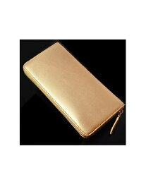 ラウンド メンズ 財布 長財布 ラウンド長財布 金 金運 金運財布 ゴールド ゴールドカラー 風水 風水財布 BS-15805