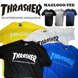 THRASHER スラッシャー MAG LOGO TEE メンズ 半袖 Tシャツ「TH8101」アメリカサイズ ストリート カジュアルファッション スケーター スケボーブランド/summersale