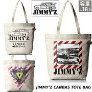 [ジミーズ]JIMMY'ZトートバッグキャンバスTOTEBAGメンズレディースJZA-800JZA-801JZA-802jimmyz-006帆布STREETSKATE