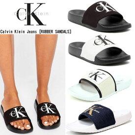 Calvin Klein Jeans カルバンクライン ジーンズ レディース RUBBER SANDALS ラバー サンダル 女性用 シャワーサンダル スリッパ 34r9587/34r8806/34r4104 rashguard