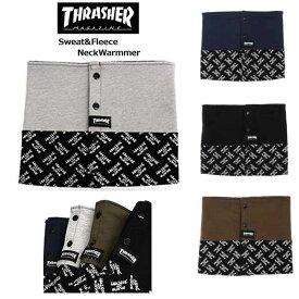 【THRASHER】スラッシャー ネックウォーマー 16TH-K51 メンズ/レディス スエット/フリース マフラー 防寒/スケート サーフ/NECKWARMER 在庫処分 3000円ポッキリ