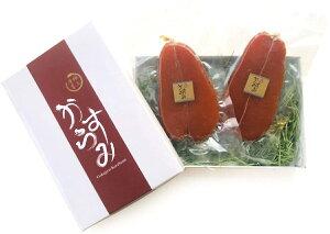 台湾南部産(箱付き送料無料)【2枚セット、合計約280g前後】 厳選天然ボラの良質卵を100%のからすみ無添加1つ1つ手作りのカラスミ、お中元ギフト 敬老の日 ギフト お歳暮 母の日