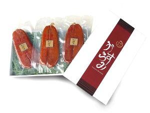 台湾南部産(箱付き送料無料)【3枚セット、合計約330g前後】 厳選天然ボラの良質卵を100%のからすみ無添加1つ1つ手作りのカラスミ、お中元ギフト 敬老の日 ギフト お歳暮 母の日