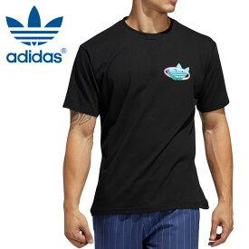 アディダス Tシャツ メンズ コットン アディニスタ スケートボーディング 黒 ADIDAS GVW73 FM1454