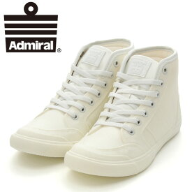 アドミラル INOMER HI WP 防水性 レインシューズ 雨用 イノマーハイ スニーカー ホワイト 白色 ADMIRAL