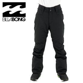 ビラボン メンズ スノーパンツ レギュラーフィット ボード ウェア 耐水 ブラック 黒 AI01M703