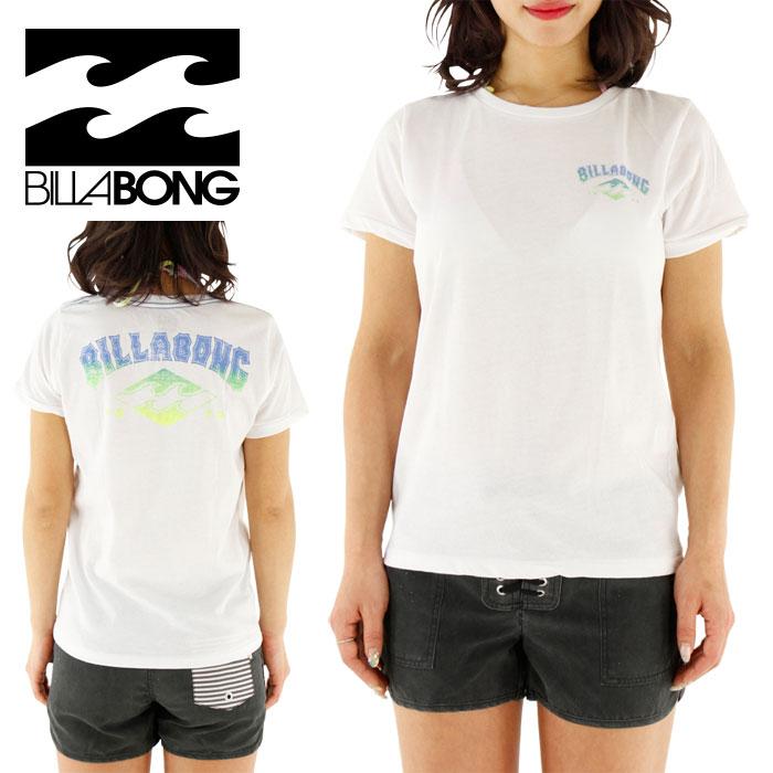 セール ビラボン レディース ラッシュ Tシャツ 白 水陸両用 女性用 BILLABONG AG013863 WHT