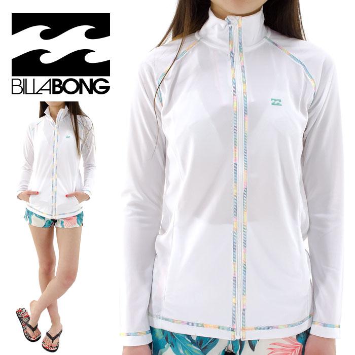 【セール】 BILLABONG UV ラッシュガード ゆったりシルエット 吸水速乾 接触冷感 ビラボン AG013859 長袖