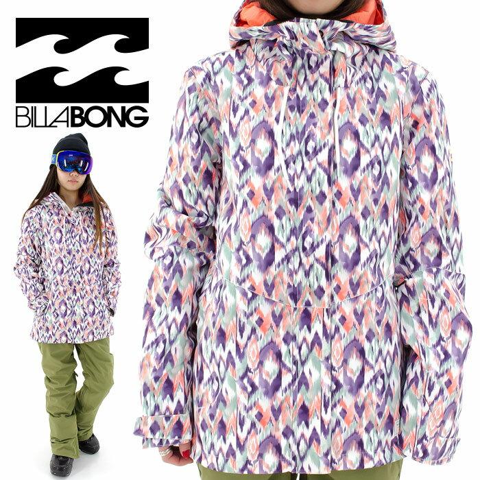 SALE ビラボン スノボジャケット レディス スノーボードウェア BILLABONG スノーボードウェア AG01L757