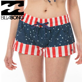 BILLABONG サートラ ショート丈 サーフパンツ ビラボン アメリカ国旗 ボードショーツ AI013513 BUD