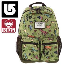 バートン キッズ リュックサック 15L Backpack 110551 総柄 動物柄 グリーン系