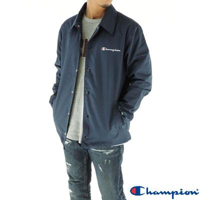 Champion チャンピオン コーチジャケット ネイビー 紺色 ジャンパー メンズ アクションスタイル C3-K604