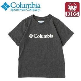 コロンビア キッズTシャツ ベーシックロゴユースショートスリーブT 半袖 ロゴT 子ども用 Columbia AY0090