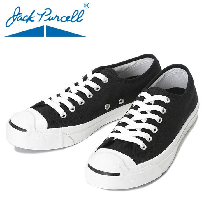 コンバース 黒色 ブラック ジャックパーセル 定番スニーカー 人気シューズ CONVERSE JACKPURCELL