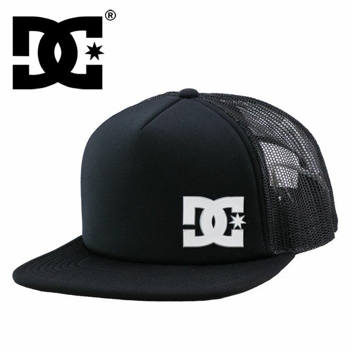 ディーシー メッシュキャップ スナップバック 帽子 CAP DC SHOE 黒 ブラック キャップ