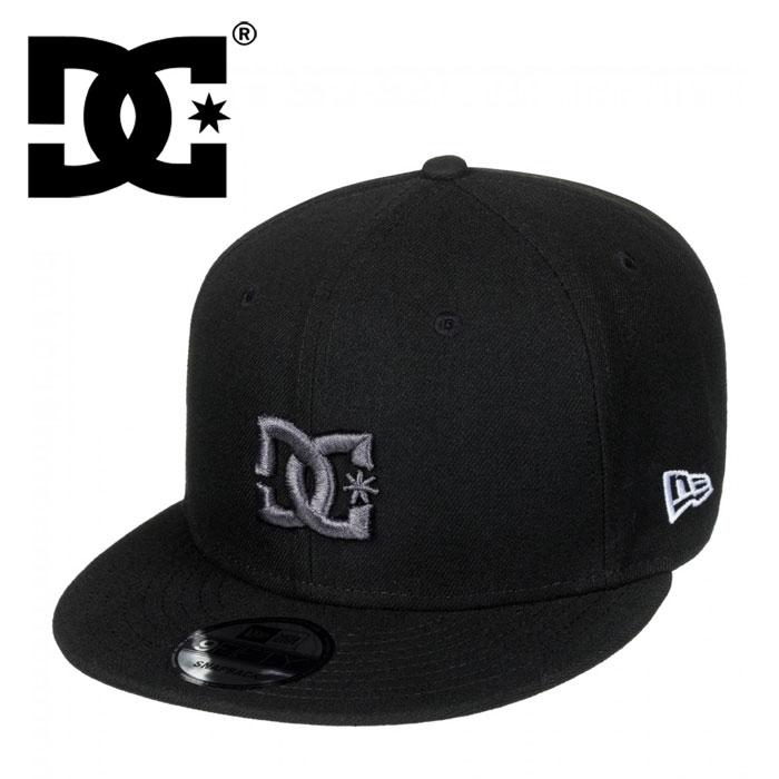 コラボ キャップ ディーシー ニューエラ 9FIFTY 刺繍 DC SHOE NEW ERA 帽子 CAP 黒 ブラック