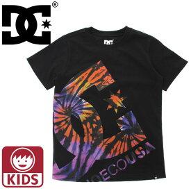 ディーシーシューズ キッズ ロゴTシャツ ブラック 半袖 ボーイズ ティーシャツ DCSHOES 7226J804