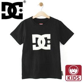 キッズ ディーシーシューズ ジュニア Tシャツ 半袖Tシャツ スケボー DCSHOES 普段着 子どもサイズ