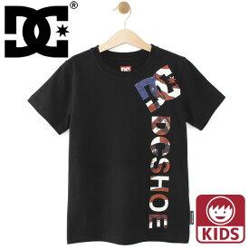キッズ DC Tシャツ 半袖 ディーシーシューズ ジュニアTシャツ ロゴ スケボー DCSHOES ジュニアサイズ