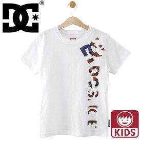 子供用 半袖Tシャツ ディーシーシューズ 定番ロゴTシャツ DCSHOES 普段着 子どもサイズ 小学生 中学生