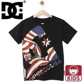 DC 半袖Tシャツ キッズ ビックロゴ ディーシーシューズ ジュニアTシャツ キッズ用 DCSHOES 子供用サイズ