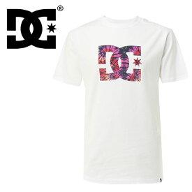 【メール便OK】ディーシーシューズ ビッグロゴTシャツ ホワイト 半袖Tシャツ タイダイ DCSHOES 白色