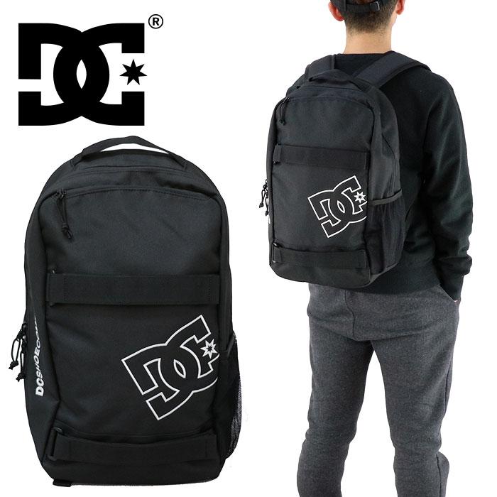ディーシー バックパック DC SHOE デイパック バッグ 鞄 黒 リュックサック ブラック