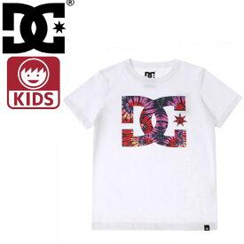 ディーシーシューズ 白色 キッズTシャツ 子ども用半袖Tシャツ 子供服 7126J802 DCSHOES