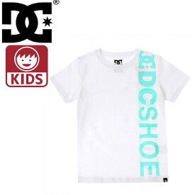 ディーシーシューズ ビッグロゴ キッズ 半そでTシャツ 子供用半袖Tシャツ 子供服 DCSHOES 7126J804