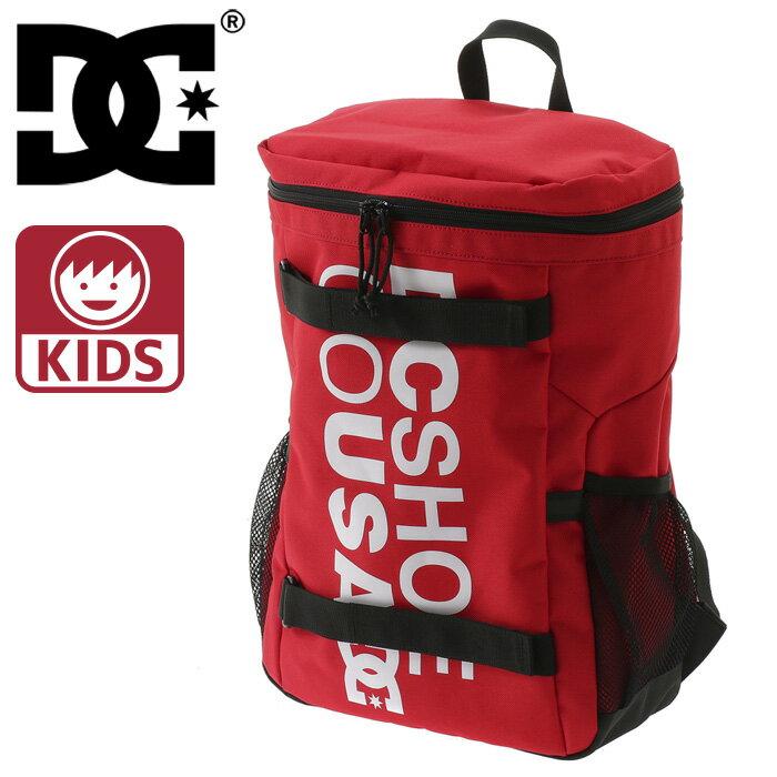 DC SHOES バックパック 子供用 デイパック バッグ 鞄 赤 リュックサック レッド