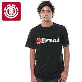エレメント 半袖 カットソー 綿100% ELEMENT Tシャツ AI021200 USAコットン 半そで 黒 ブラック