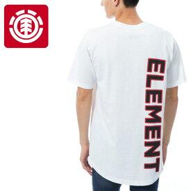 【メール便OK】エレメント バックプリント半袖 コットンTシャツ ラウンドカット ELEMENT AI021313