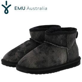 エミュー スティンガー ブーツ ムートンブーツ レディース 正規品 ブラック emu STINGER W11376 即納 人気