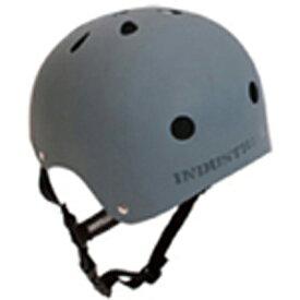 INDUSTRIAL(インダストリアル) ヘルメット 灰(グレー)【子供〜大人サイズ】スケボー スノボー BMX インライン 自転車 プロテクター