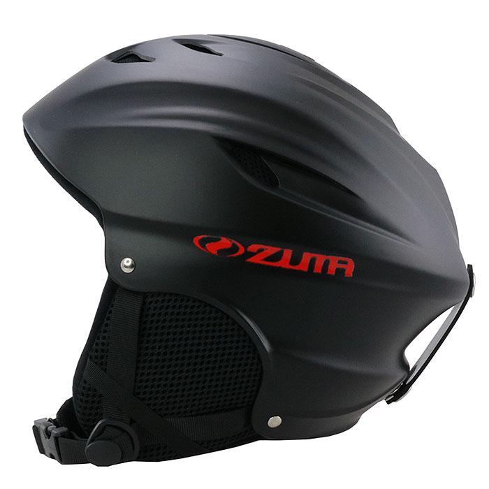 ヘルメット スノボ メンズ レディース スキー 大人用 ヘッドギア スノーボード スノー マットブラック 黒