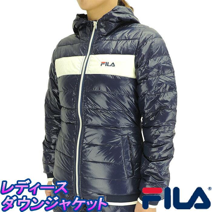 FILA レディース ライトダウンジャケット 446-643 フィラ 保温ジャケット 軽量ジャケット