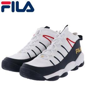 フィラ スパゲティーニット シューズ メンズ スニーカー バスケット FILA ホワイト ネイビー 即納 人気ブランド