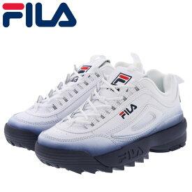 フィラ レディース シューズ スニーカー ディスラプター 2 FILA F0329-125 ホワイト ネイビー レッド 即納 人気ブランド
