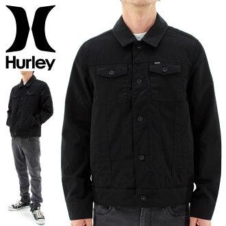 哈雷人防寒夾克服外衣HURLEY MJK0001400耐久性防水背後被褥