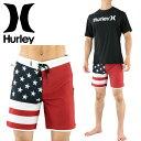 ハーレー 星条旗 PHANTOM サーフパンツ ファントム メンズ ボードショーツ HURLEY アメリカ国旗 MBS0007900