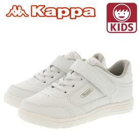 カッパ キッズスニーカー シューズ 軽量 Kappa ホワイト SPK30
