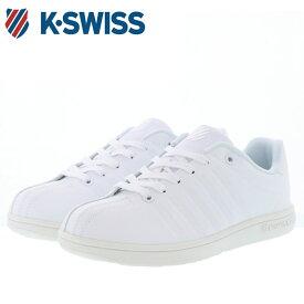 ケースイス スニーカー カジュアルシューズ ホワイト KSWISS KSL 07-S