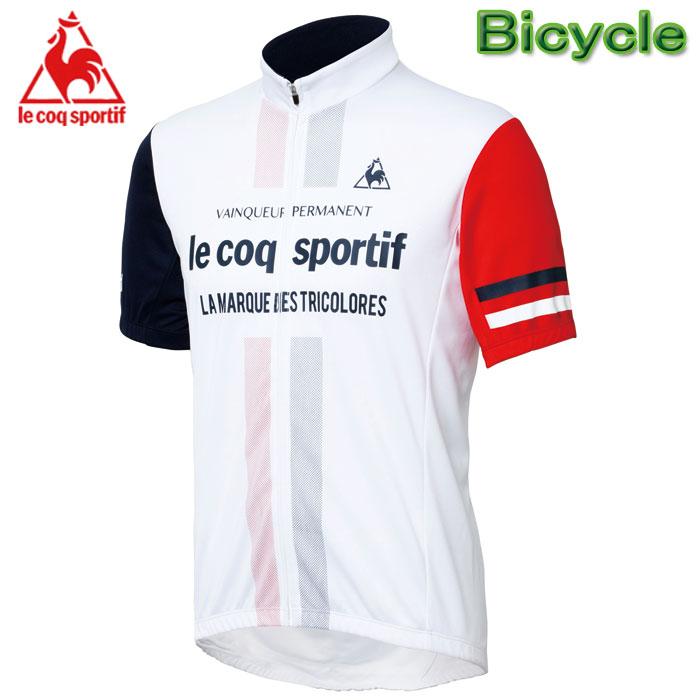 ルコック 自転車用半袖シャツ サイクル半袖ジャージ サイクルウエアー メンズ Lecoq QC-741671
