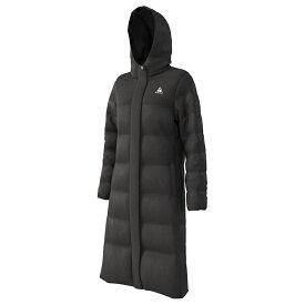 ルコック レディース ダウン 防寒 ロングコートコート ダウン 撥水 コート Lecoq ブラック ウォーキング