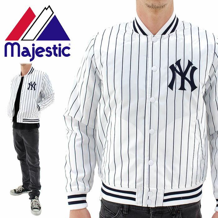 MLB公認 マジェスティック ジャケット MAJESTIC メンズスタジャン ニューヨークヤンキース MM23-NYK-0078