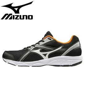 ミズノ スニーカー メンズ マキシマイザー22 ランニングシューズ 運動靴 黒色 K1GA2000 ブラック
