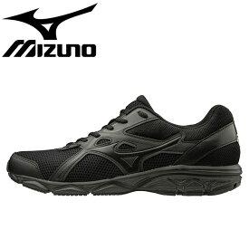 ミズノ スニーカー マキシマイザー22 ランニングシューズ 運動靴 黒色 K1GA2002 ブラック